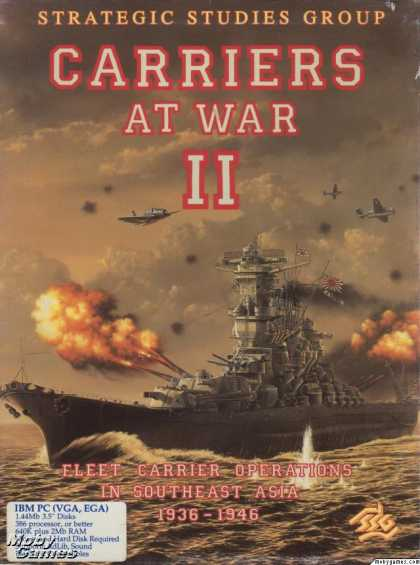 DOS Games - Carriers at War II