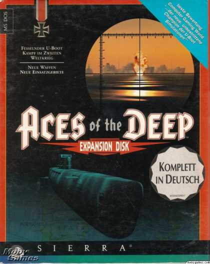 DOS Games - Aces of the Deep Expansion Disk