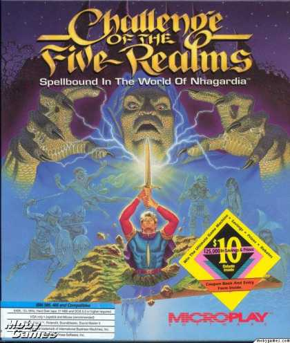 DOS Games - Challenge of the Five Realms