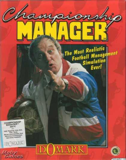 DOS Games - Championship Manager