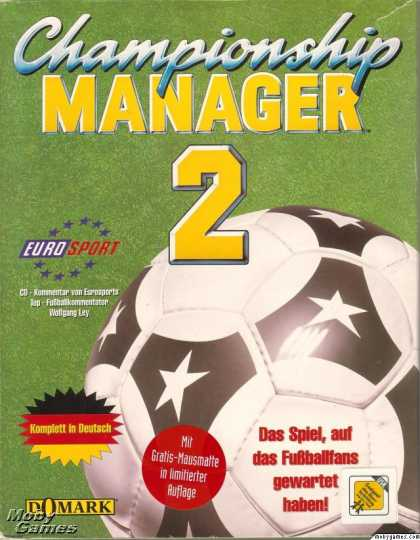 DOS Games - Championship Manager 2