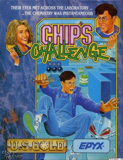 DOS Games - Chip's Challenge