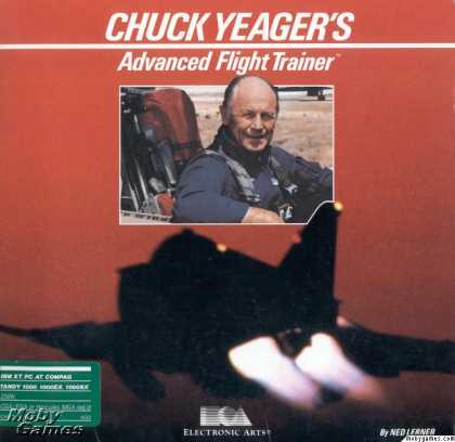 DOS Games - Chuck Yeager's Advanced Flight Trainer