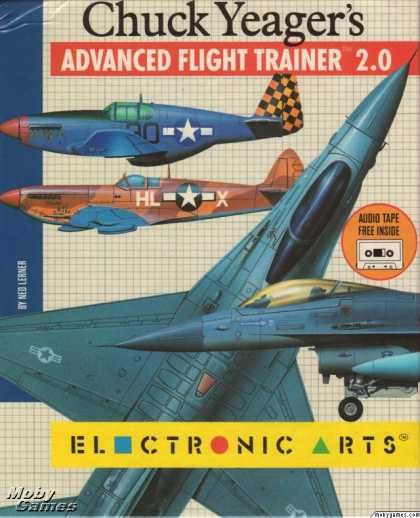 DOS Games - Chuck Yeager's Advanced Flight Trainer 2.0