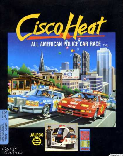 DOS Games - Cisco Heat: All American Police Car Race