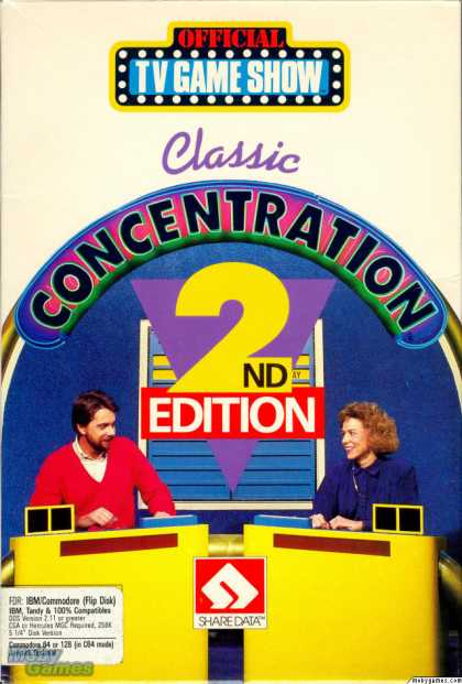 DOS Games - Classic Concentration: 2nd Edition