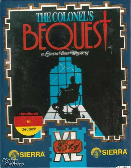 DOS Games - The Colonel's Bequest