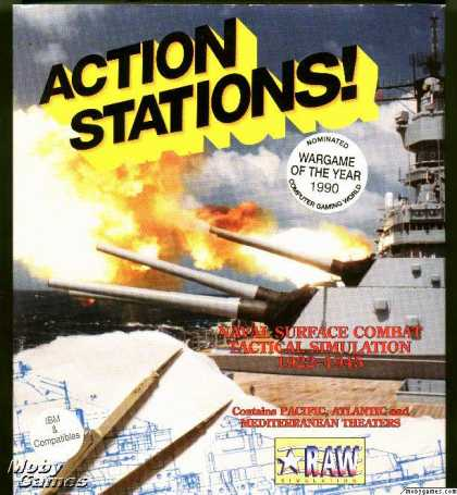 DOS Games - Action Stations!