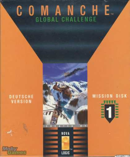 DOS Games - Comanche: Mission Disk 1