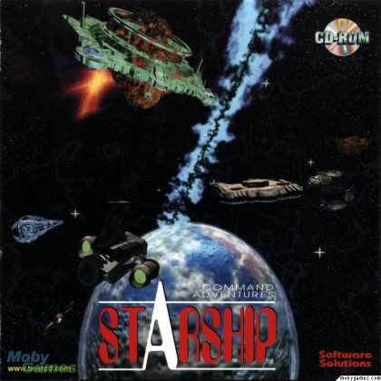 DOS Games - Command Adventures: Starship