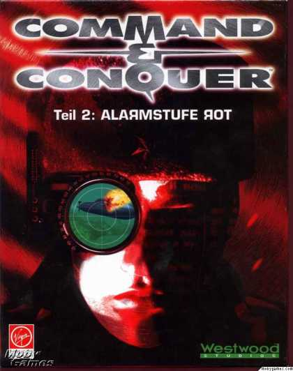 DOS Games - Command & Conquer: Red Alert