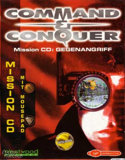 DOS Games - Command & Conquer: Red Alert - Counterstrike
