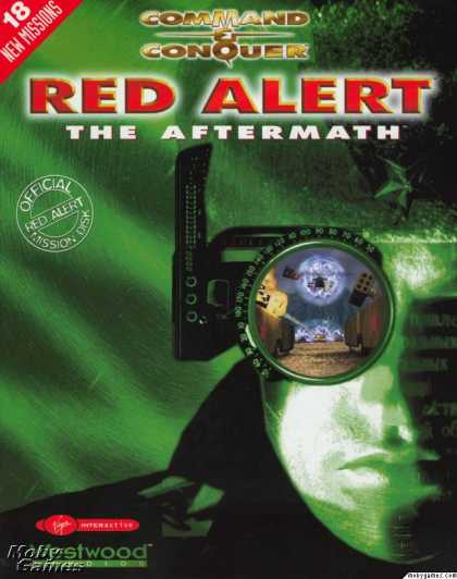DOS Games - Command & Conquer: Red Alert - The Aftermath
