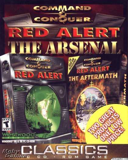 DOS Games - Command & Conquer: Red Alert - The Arsenal