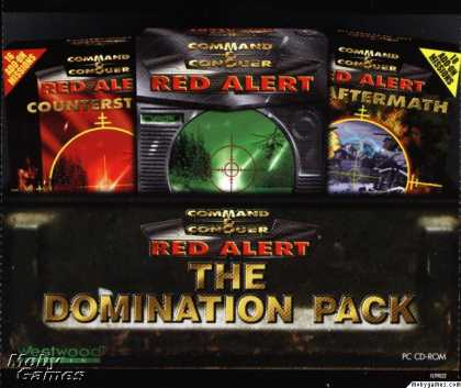 DOS Games - Command & Conquer: Red Alert - The Domination Pack