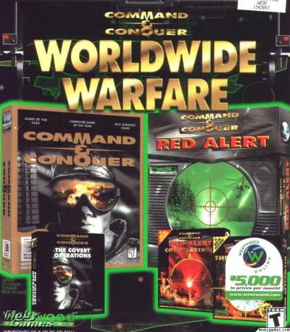 DOS Games - Command & Conquer: Worldwide Warfare