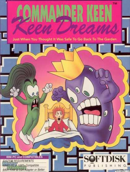 DOS Games - Commander Keen: Keen Dreams