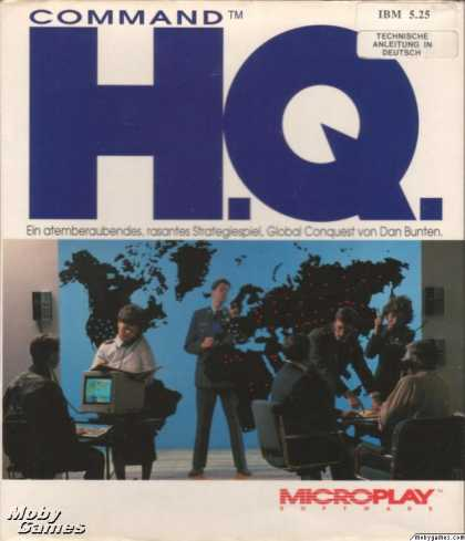 DOS Games - Command H.Q.