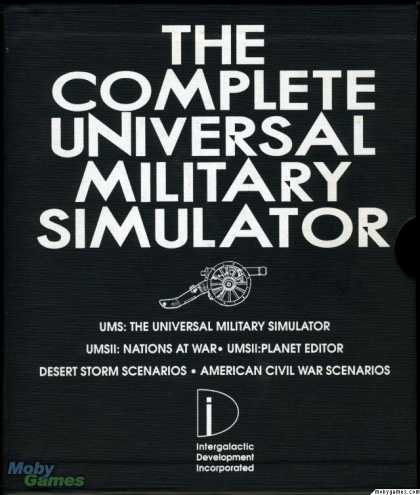 DOS Games - The Complete Universal Military Simulator