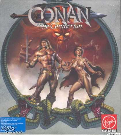 DOS Games - Conan: The Cimmerian