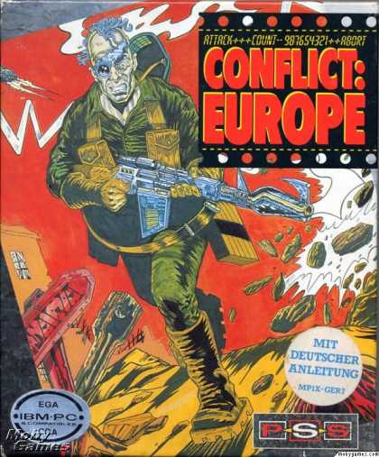 DOS Games - Conflict: Europe