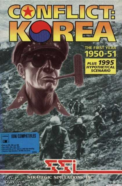 DOS Games - Conflict: Korea the First Year 1950-1951