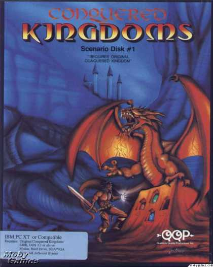 DOS Games - Conquered Kingdoms: Scenario Disk #1