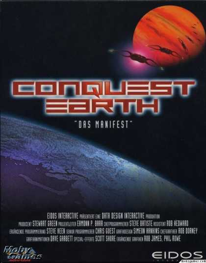 DOS Games - Conquest Earth