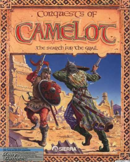 DOS Games - Conquests of Camelot: The Search for the Grail