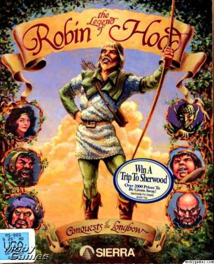 DOS Games - Conquests of the Longbow: The Legend of Robin Hood