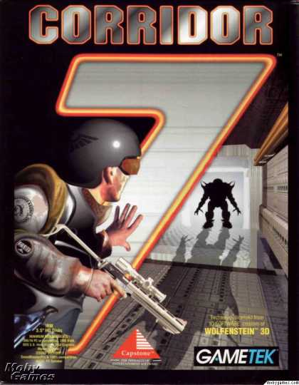 DOS Games - Corridor 7: Alien Invasion