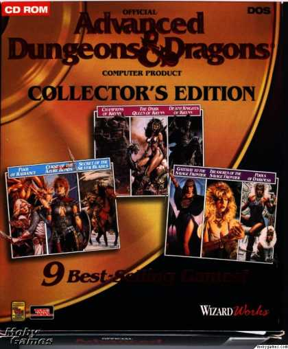DOS Games - Advanced Dungeons & Dragons (Collector's Edition)