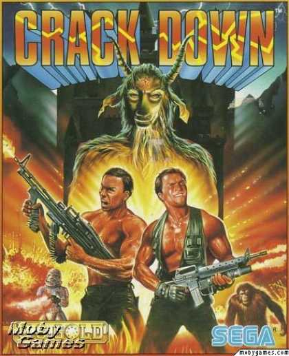 DOS Games - Crack Down