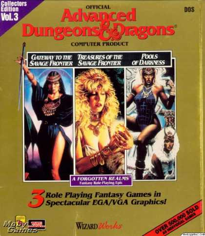 DOS Games - Advanced Dungeons & Dragons Collector's Edition Vol. 3