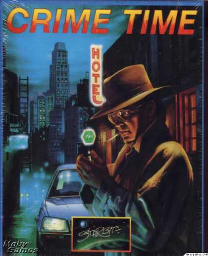DOS Games - Crime Time