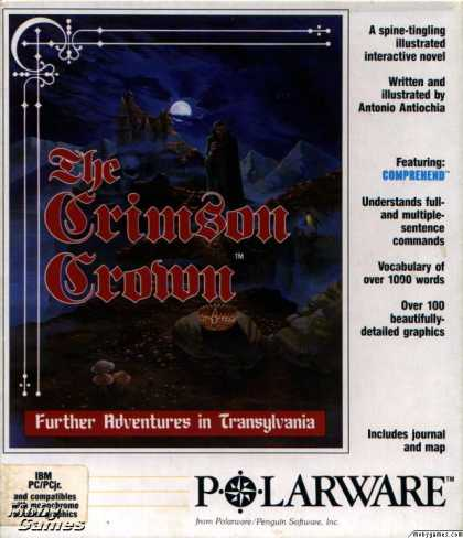DOS Games - The Crimson Crown
