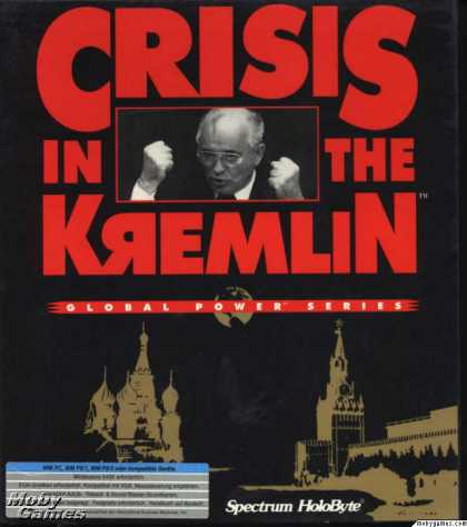 DOS Games - Crisis in the Kremlin