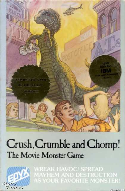 DOS Games - Crush, Crumble and Chomp!