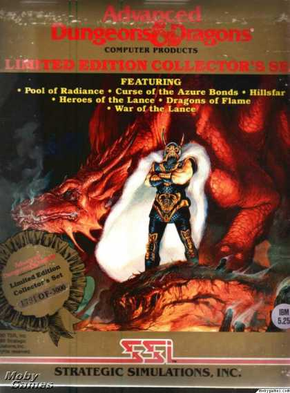 DOS Games - Advanced Dungeons & Dragons (Limited Edition Collector's Set)