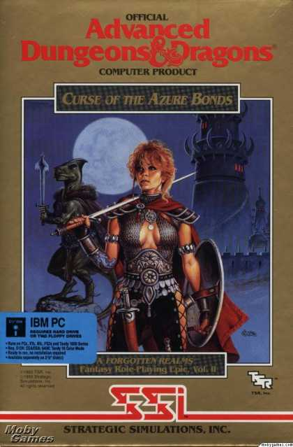 DOS Games - Curse of the Azure Bonds