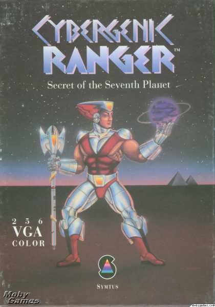 DOS Games - Cybergenic Ranger: Secret of the 7th Planet