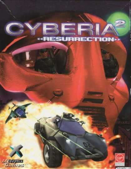 DOS Games - Cyberia 2: Resurrection