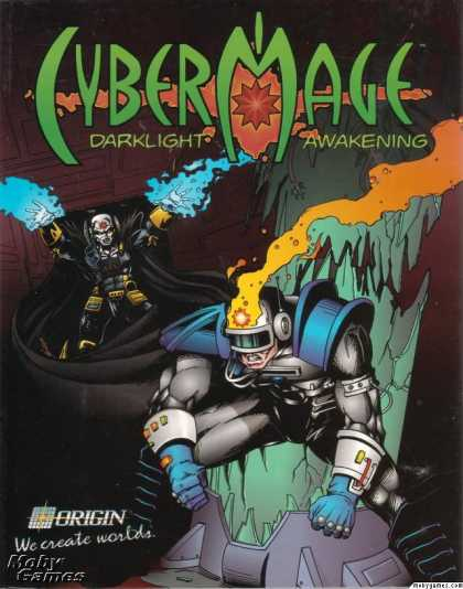 DOS Games - CyberMage: Darklight Awakening