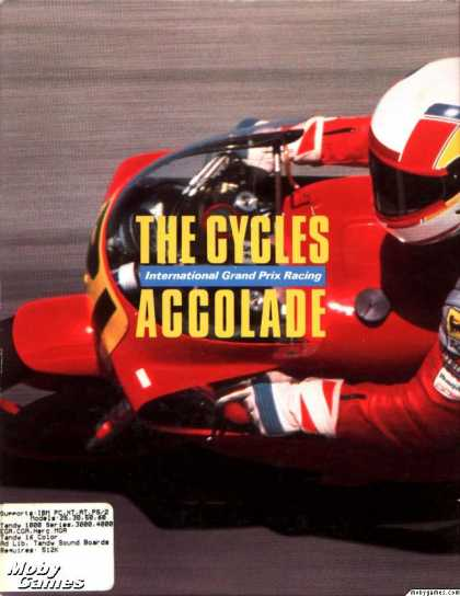 DOS Games - The Cycles: International Grand Prix Racing