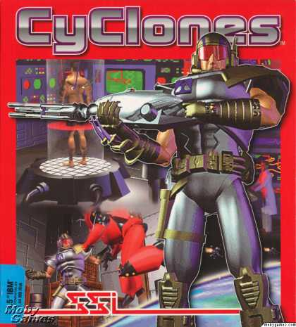 DOS Games - CyClones