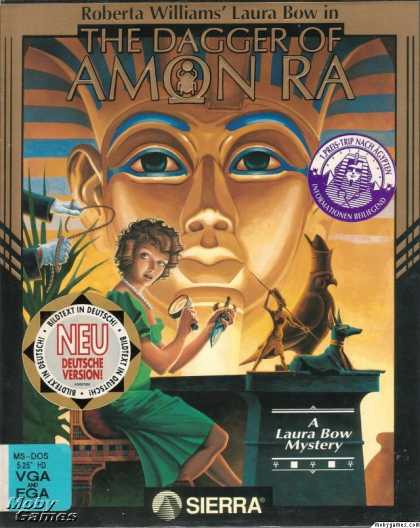 DOS Games - The Dagger of Amon Ra