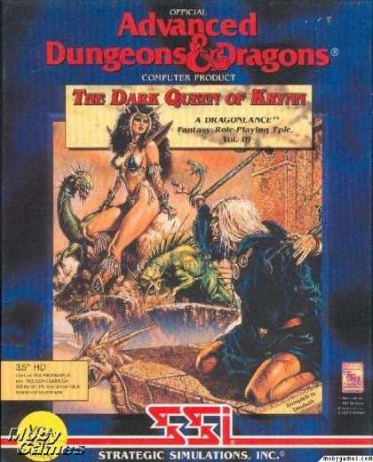 DOS Games - The Dark Queen of Krynn