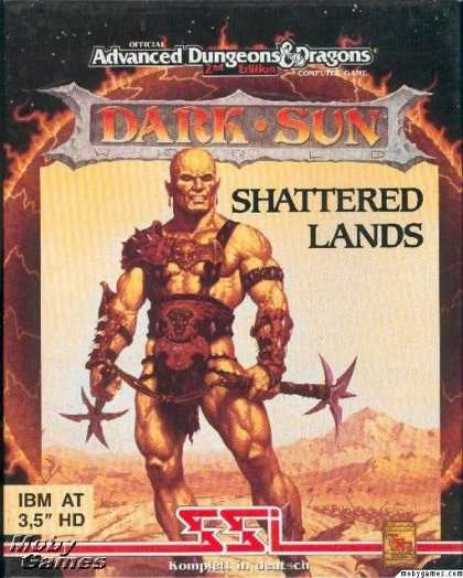 DOS Games - Dark Sun: Shattered Lands