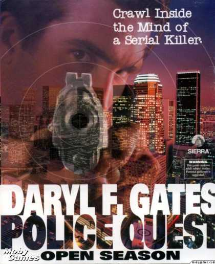 DOS Games - Daryl F. Gates' Police Quest: Open Season