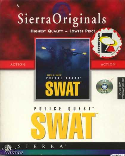 DOS Games - Daryl F. Gates' Police Quest: SWAT